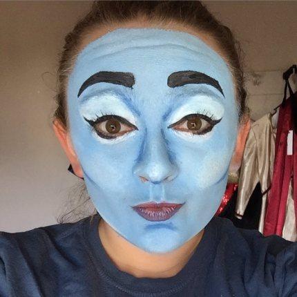 Rachel as Genie