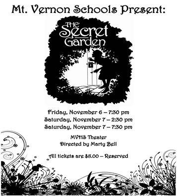 Secret Garden flyer