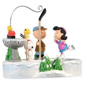 peanuts ornament