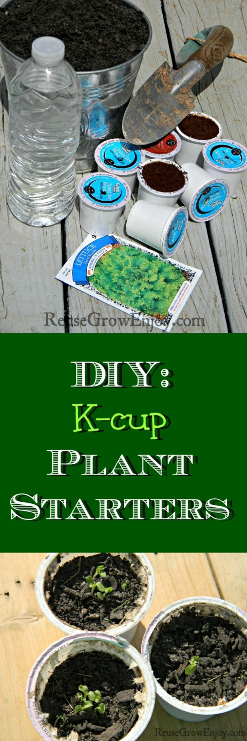 K-cup-Uses-DIY-Plant-Starters