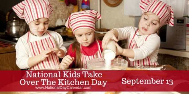 National-Kids-Take-Over-The-Kitchen-Day-September-13-1
